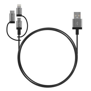 JMLC11B 3-in-1 Charging Sync Cable